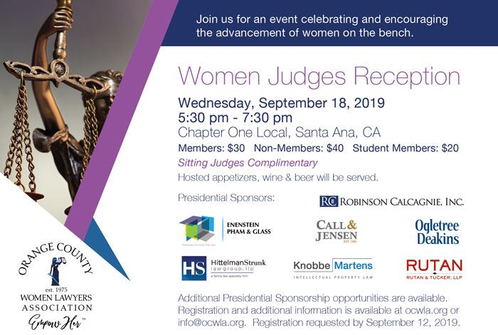 Orange County Women Lawyers Association - Events